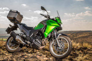 CRF250 Rally vs Versys-X 300 green