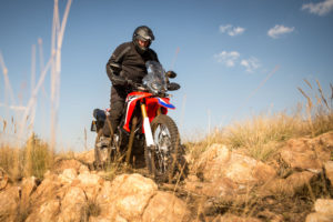 CRF250 Rally vs Versys-X 300 off-road