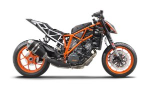 2017 KTM Super Duke 1290 R chassis