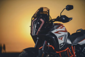 KTM 1290 Super Adventure R headlight