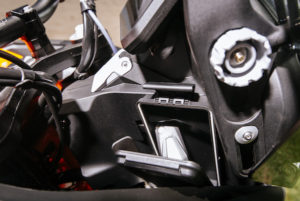 KTM 1290 Super Adventure R compartment